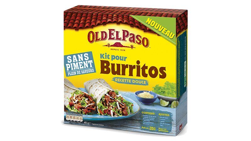 extra mild super tasty burrito kit