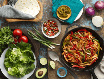 Barbecue-Chicken-Fajita's