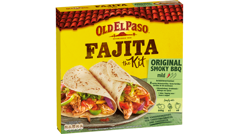 Fajita Kit Original Smoky BBQ Mild
