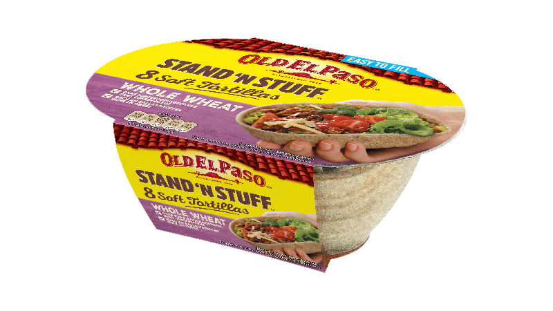 Stand 'N Stuff Whole Wheat Soft Tortillas