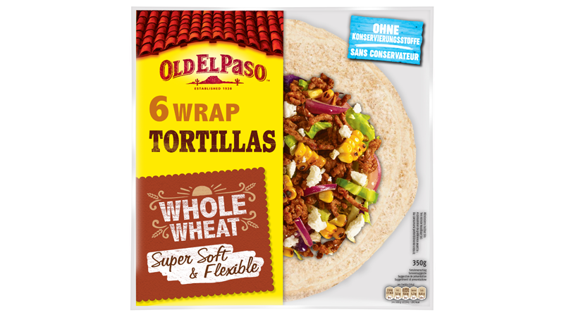 Whole Wheat Wrap Tortillas